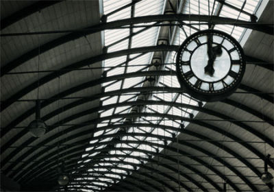 The Station Clock - Newcastle